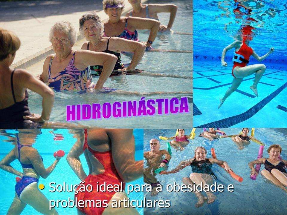 Solução ideal para a obesidade e problemas articulares Solução ideal para a obesidade e problemas articulares