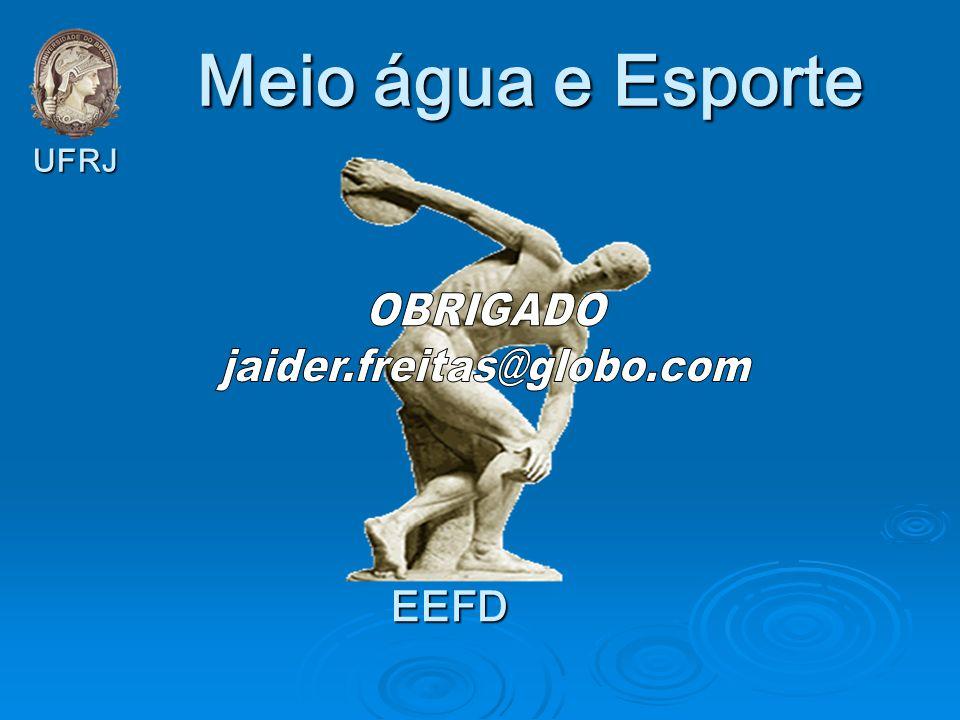 Meio água e Esporte EEFD UFRJ