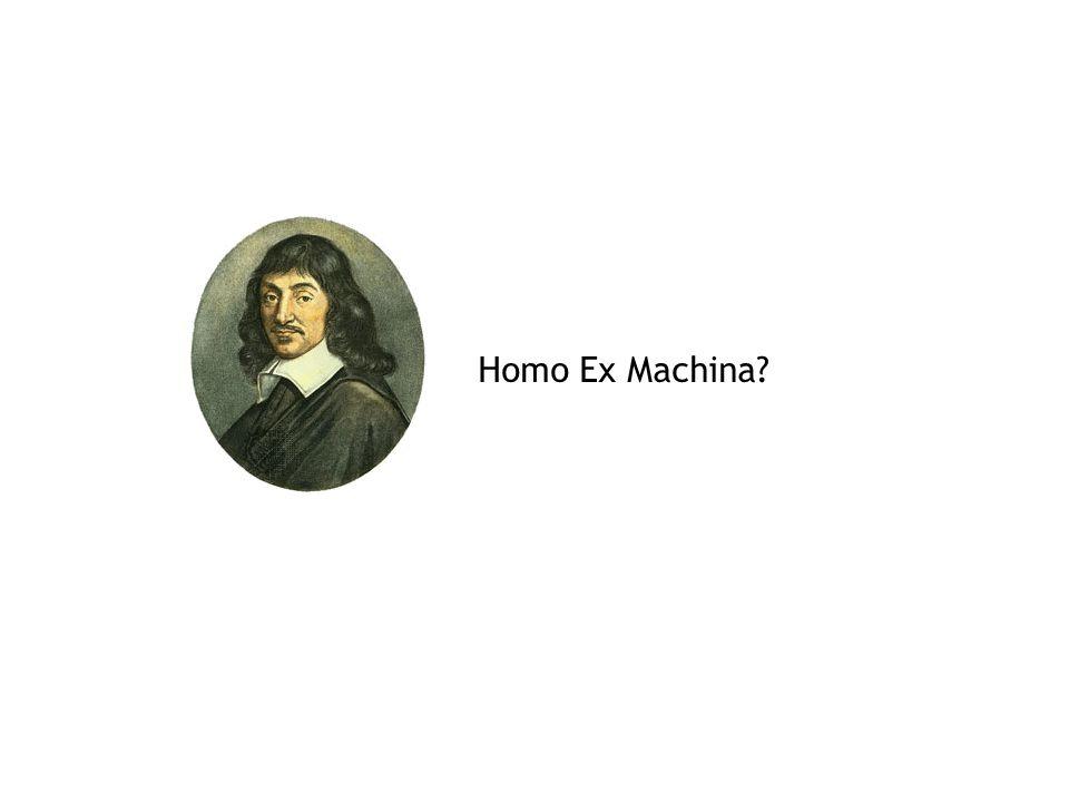 Homo Ex Machina?