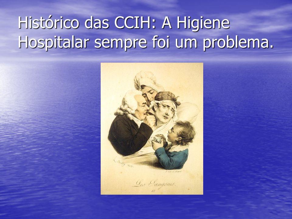 Histórico das CCIH: A Higiene Hospitalar sempre foi um problema.