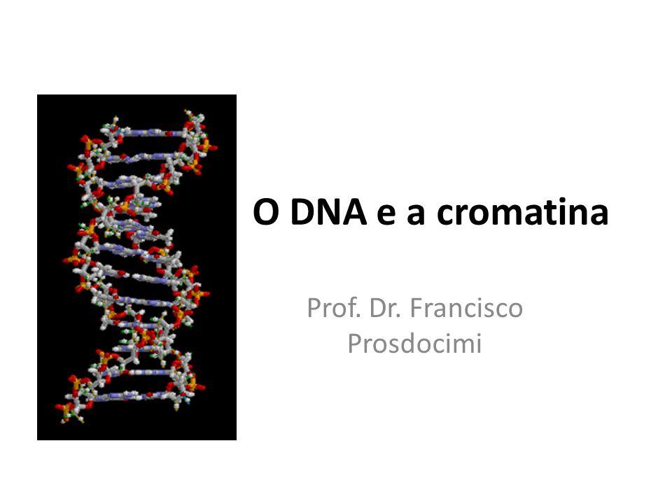 O DNA e a cromatina Prof. Dr. Francisco Prosdocimi