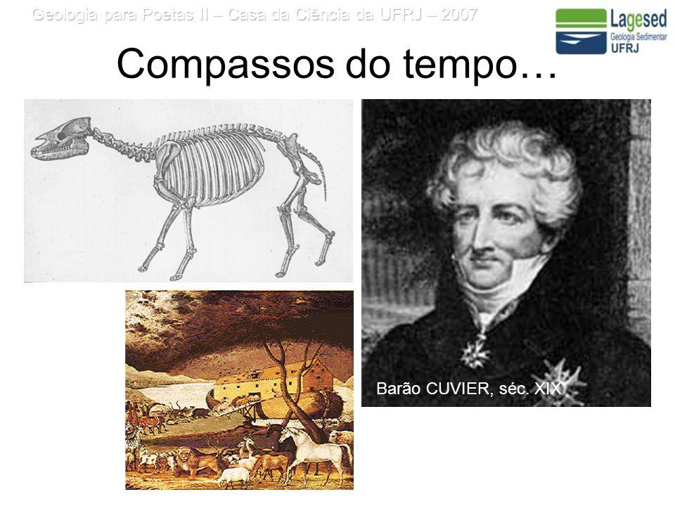 Compassos do tempo… Barão CUVIER, séc. XIX