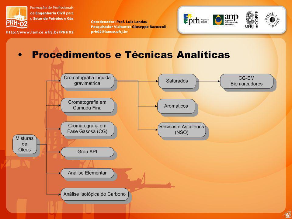 Procedimentos e Técnicas Analíticas