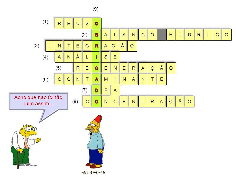 G I R A D ÃO E Ç C E AEÇ RN RN Ã A S N T F ET AÁ C A G ENL E I ÃO O N ONMT CO (3) (6) (7) (8) ÇRA AN I TNE BÍHRALCIODANÇO (1) (2) (9) OREÚS Acho que n