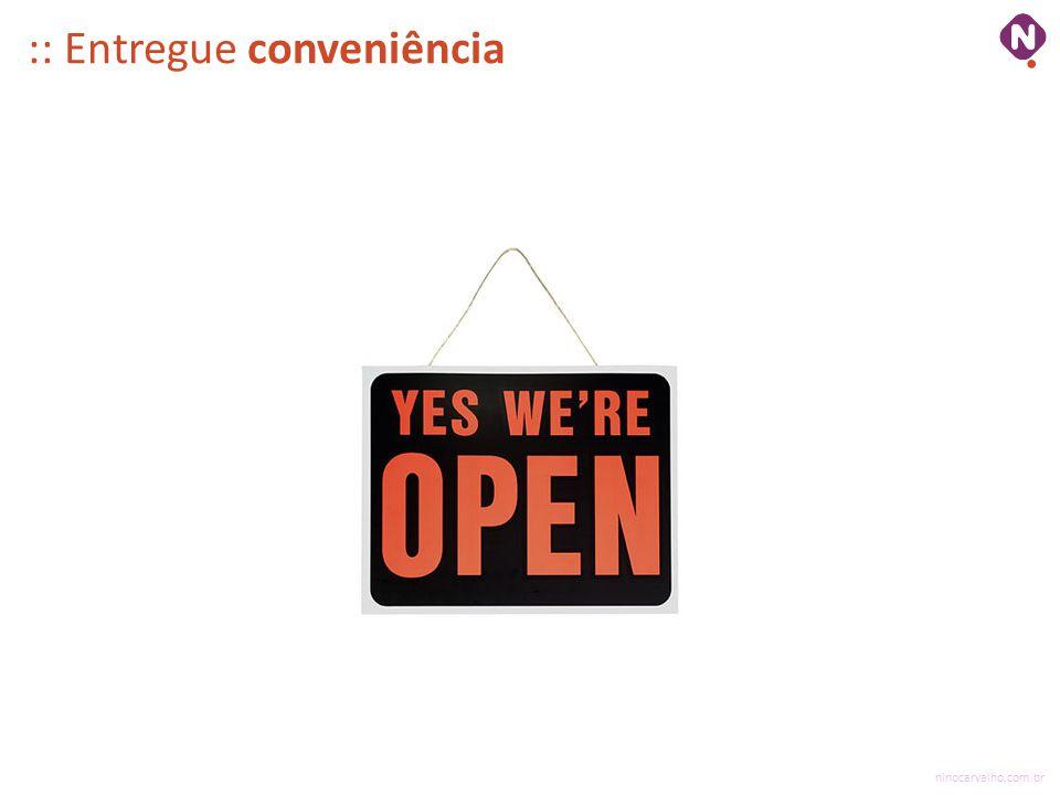 ninocarvalho.com.br :: Entregue conveniência