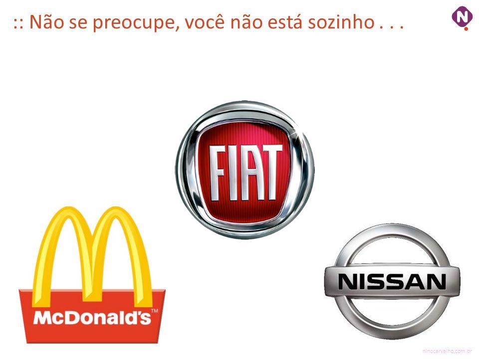 ninocarvalho.com.br :: Não se preocupe, você não está sozinho...