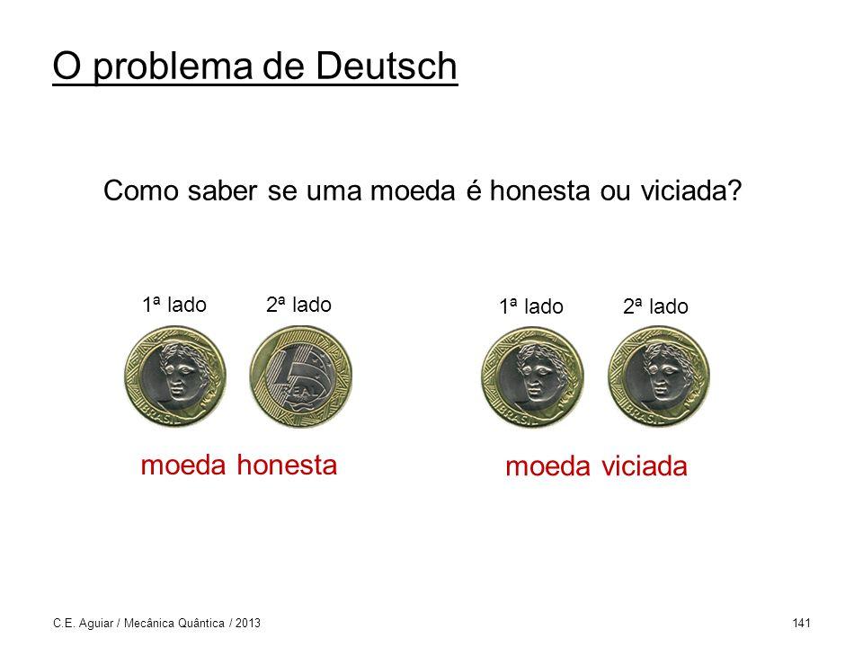 O problema de Deutsch C.E.