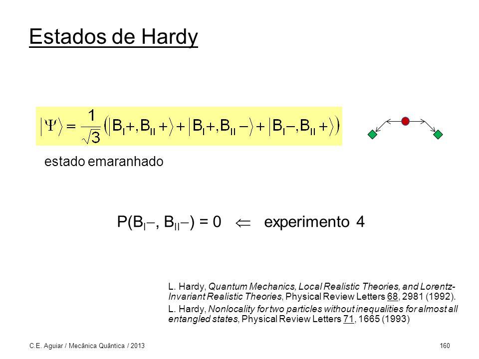 Estados de Hardy C.E.