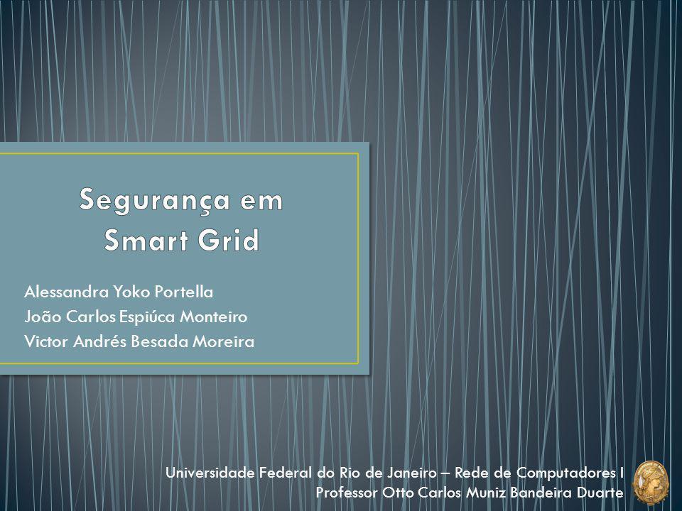 Introdução Grid SCADA Topologia Smart Grid Arquitetura Motivos Possíveis Ataques Confidencialidade Integridade Disponibilidade Formas de Ataque Medidas de Proteção Conclusão