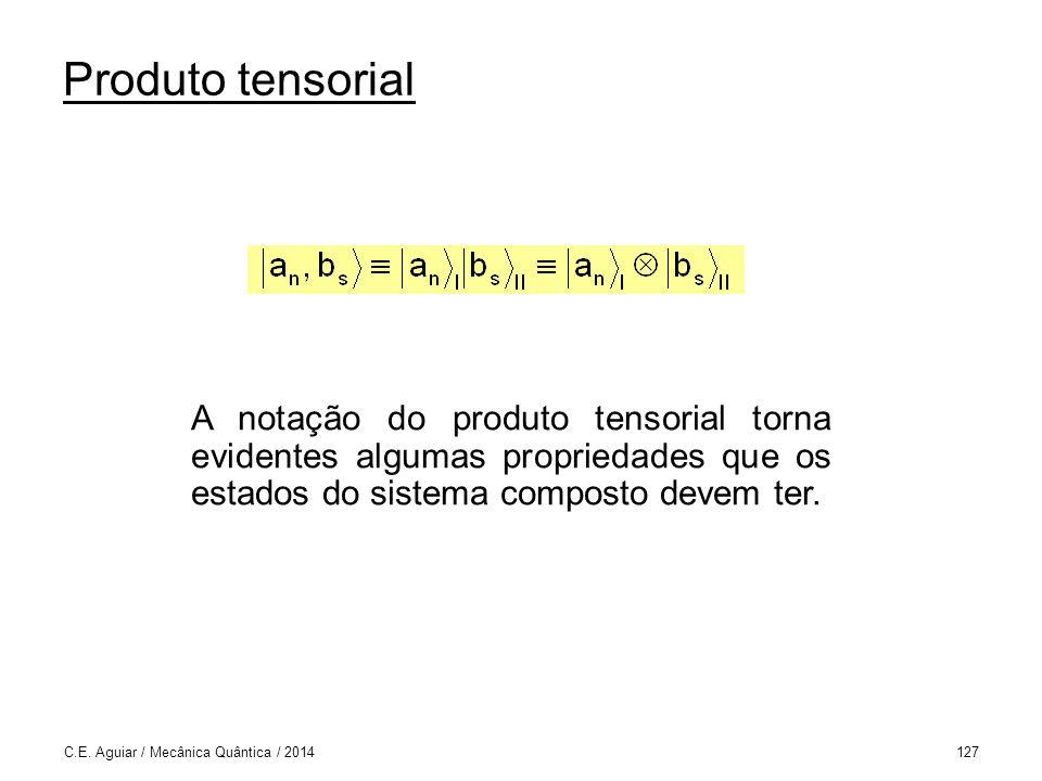 Produto tensorial C.E.