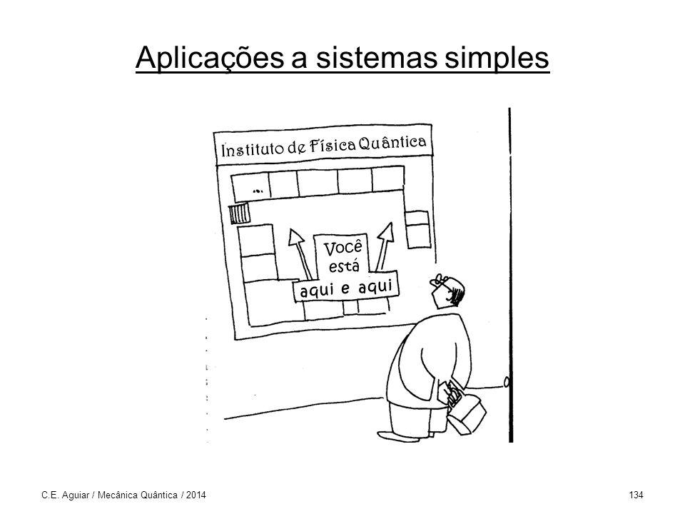 Aplicações a sistemas simples C.E.