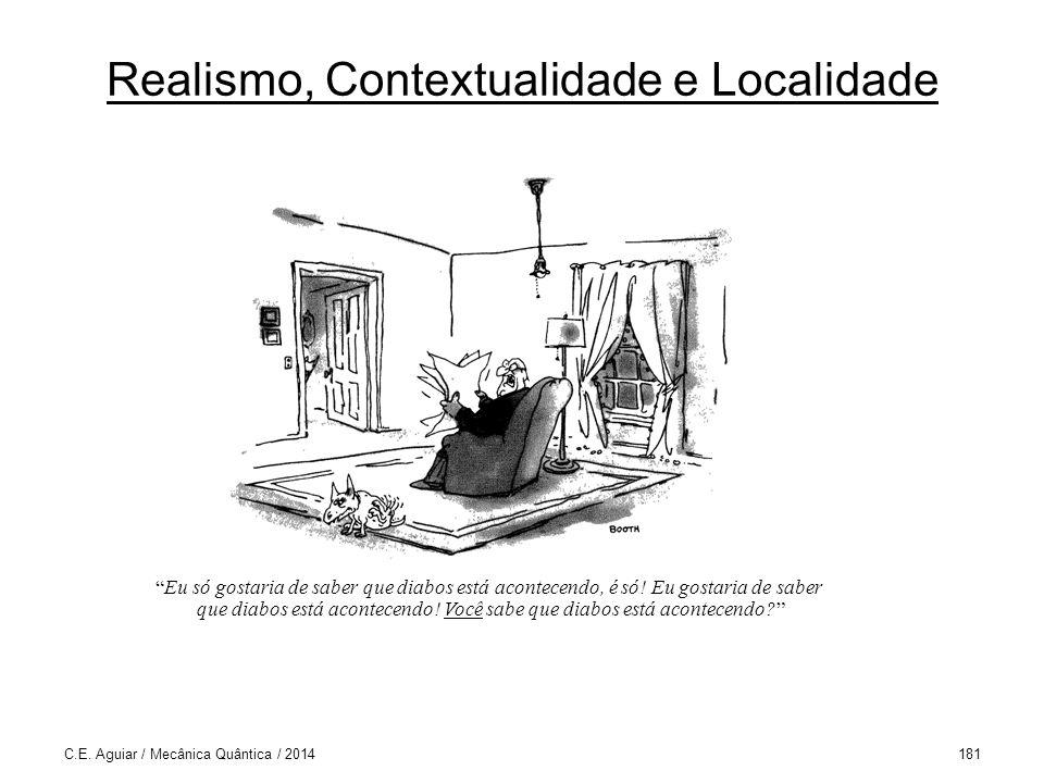 Realismo, Contextualidade e Localidade C.E.