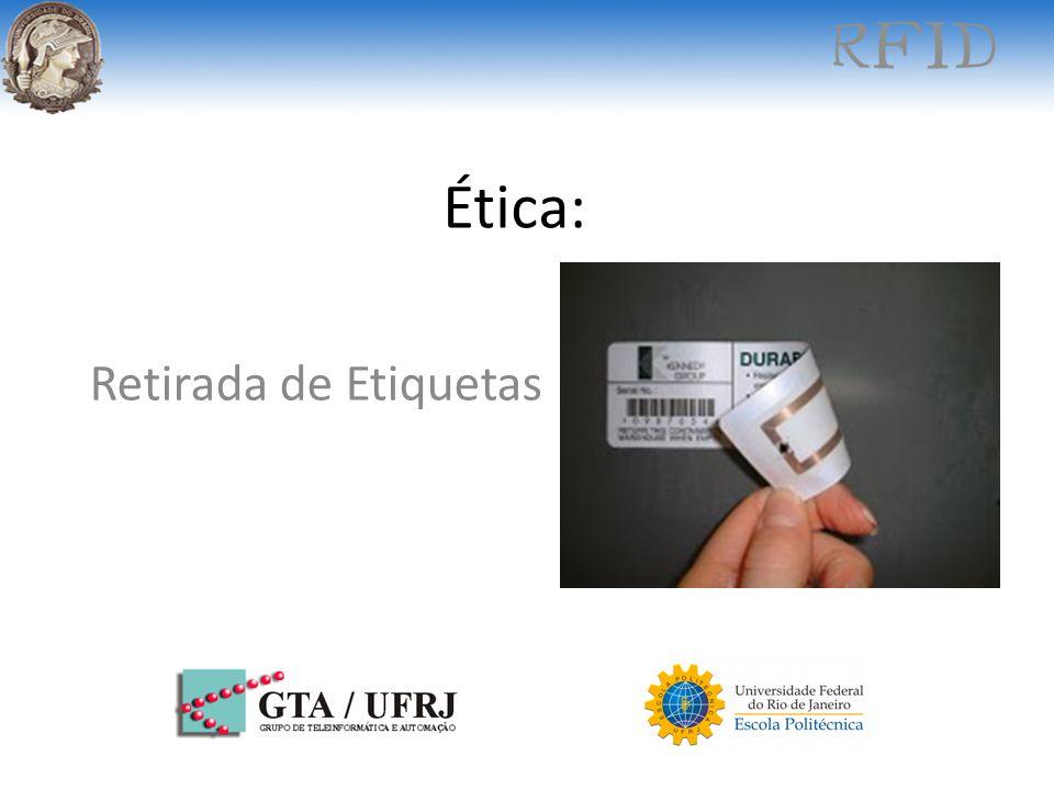 Ética: Retirada de Etiquetas