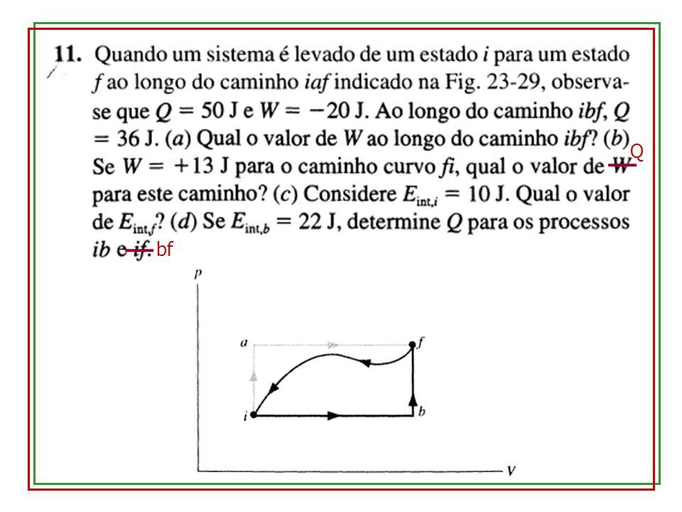 3.Processo a temperatura constante (isotérmico) - 4.