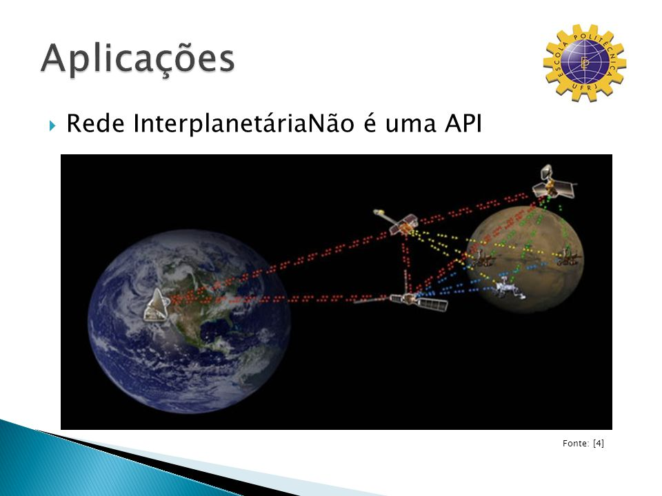 Rede InterplanetáriaNão é uma API Fonte: [4]
