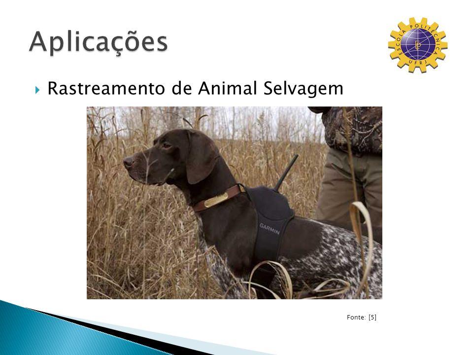 Rastreamento de Animal Selvagem Fonte: [5]