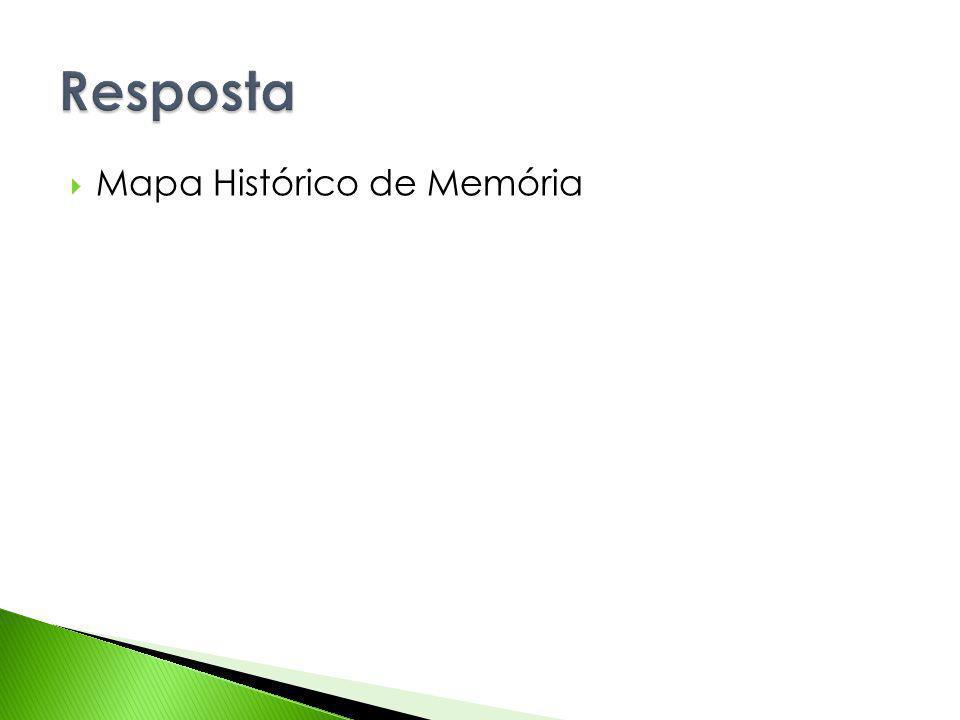 Mapa Histórico de Memória