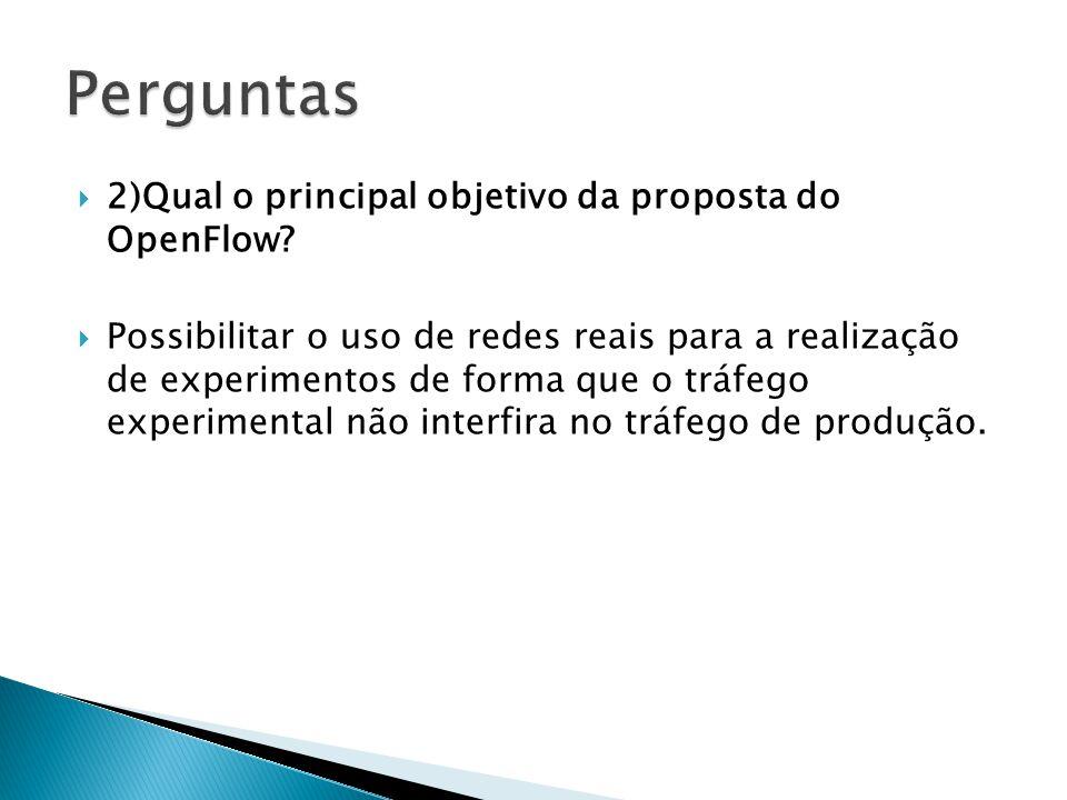 Possibilitar o uso de redes reais para a realização de experimentos de forma que o tráfego experimental não interfira no tráfego de produção.