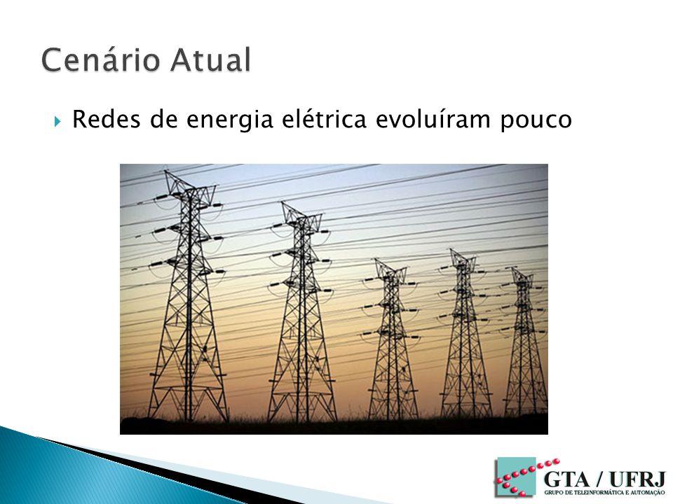 Redes de energia elétrica evoluíram pouco