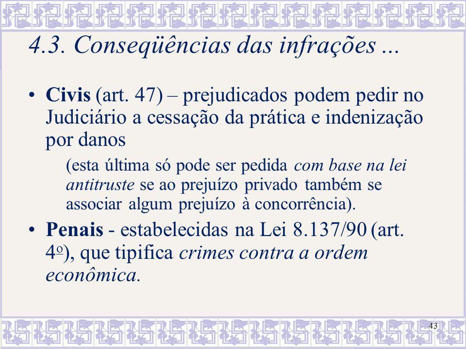 44 Passos da Análise Antitruste para Casos de Condutas I - Verificação da existência de poder de mercado 1.