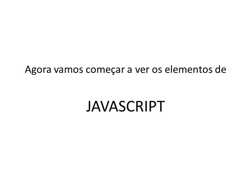 Parte 1 : Javascript Básica