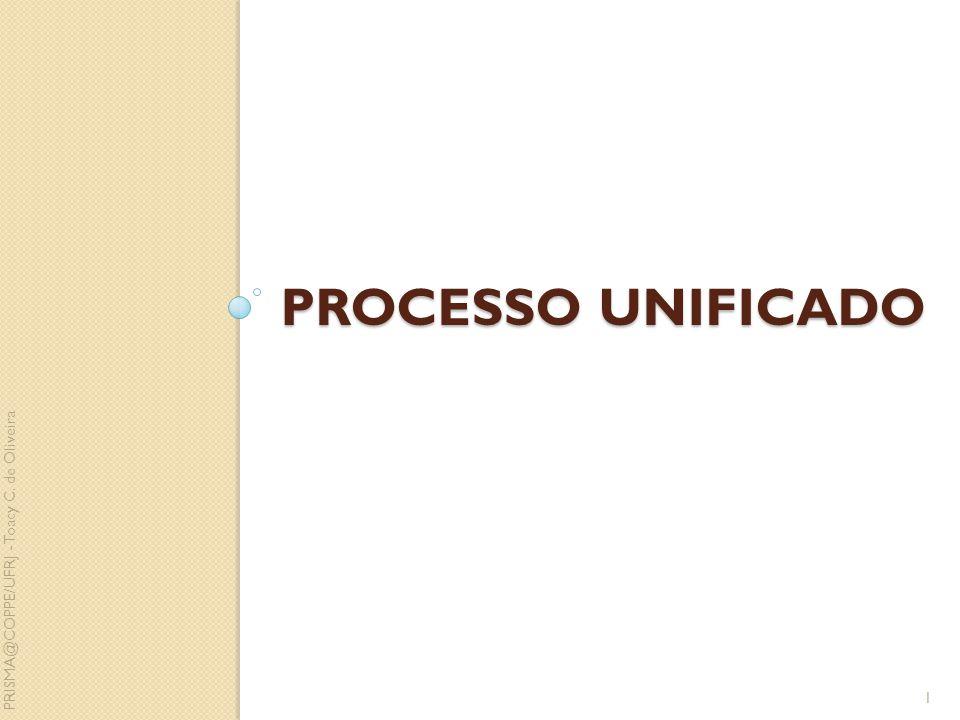 PROCESSO UNIFICADO 1 PRISMA@COPPE/UFRJ - Toacy C. de Oliveira
