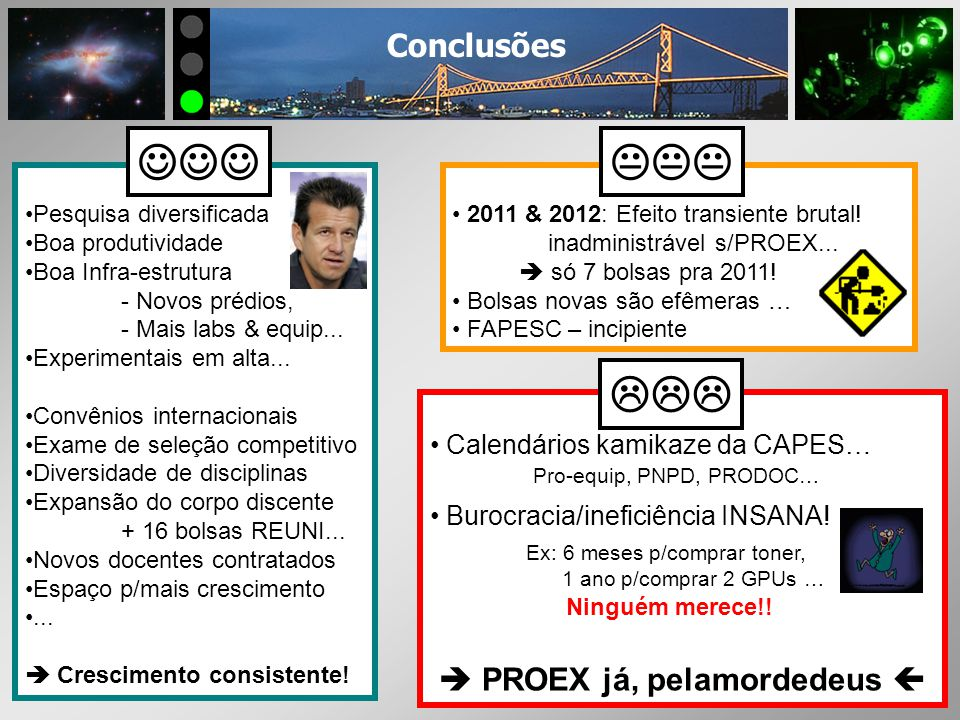 PROPOSTA DO PROGRAMA 1.1 – Áreas & Linhas de Pesquisa - Astrofísica Estelar, Extragaláctica, Instrumentação p/SOAR - Fís Atômica & Molecular Processos de Colisão e Interações..