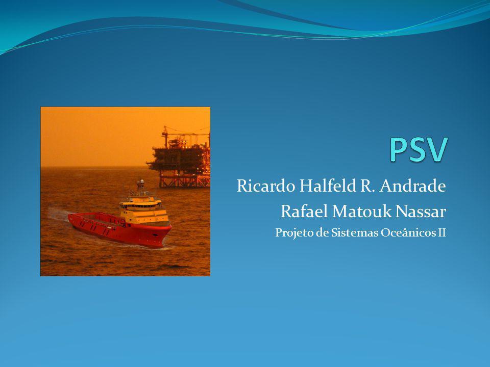Ricardo Halfeld R. Andrade Rafael Matouk Nassar Projeto de Sistemas Oceânicos II