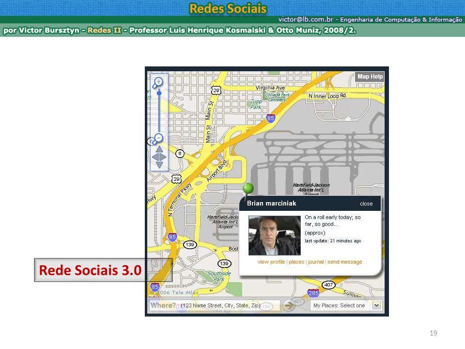 19 Rede Sociais 3.0