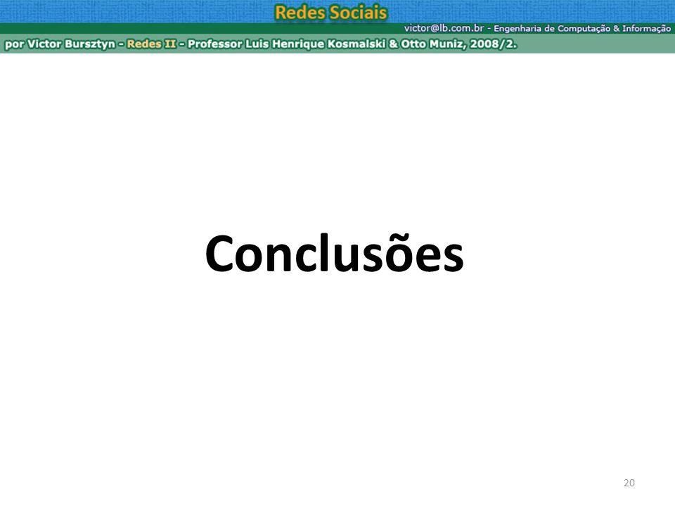 20 Conclusões