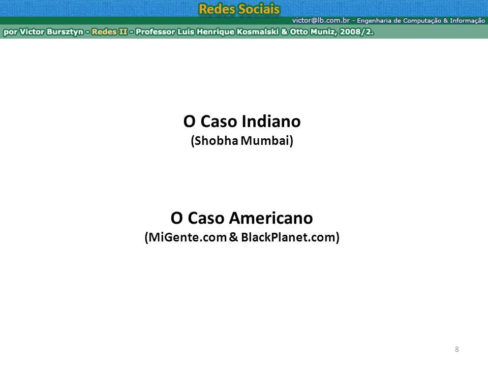 8 O Caso Americano (MiGente.com & BlackPlanet.com)