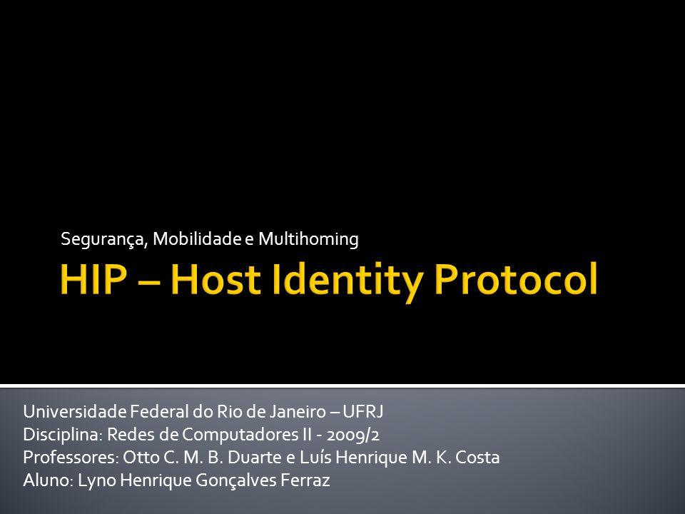 [1] Pekka Nikander, Applying Host Identity Protocol to the Internet Addressing Architecture , in 2004 International Symposium on Applications and the Internet (SAINT 04) [2] Petri Jokela, Pekka Nikander, Jan Melen, Jukka Ylitalo, and Jorma Wall, Ericsson Research, NomadicLab, Host Identity Protocol: Achieving IPv4 IPv6 handovers without tunneling [3] Moskowitz, R., Nikander, P., Jokela, P.