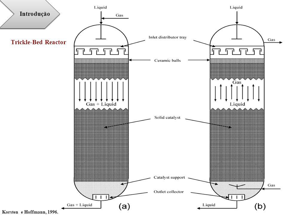 Trickle-Bed Reactor Korsten e Hoffmann, 1996. Introdução