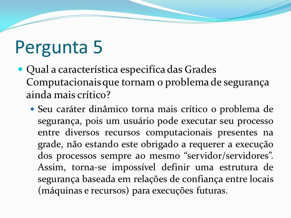 Pergunta 4 Cite um dos protocolos da GSI e explique brevemente seu funcionamento.