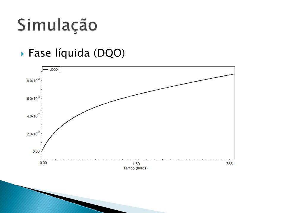 Fase líquida (DQO)