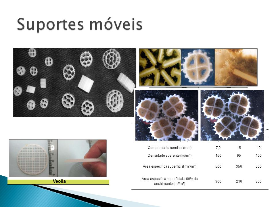 Desempenha papel chave em processos com biofilme; Relevância da espessura do biofilme.
