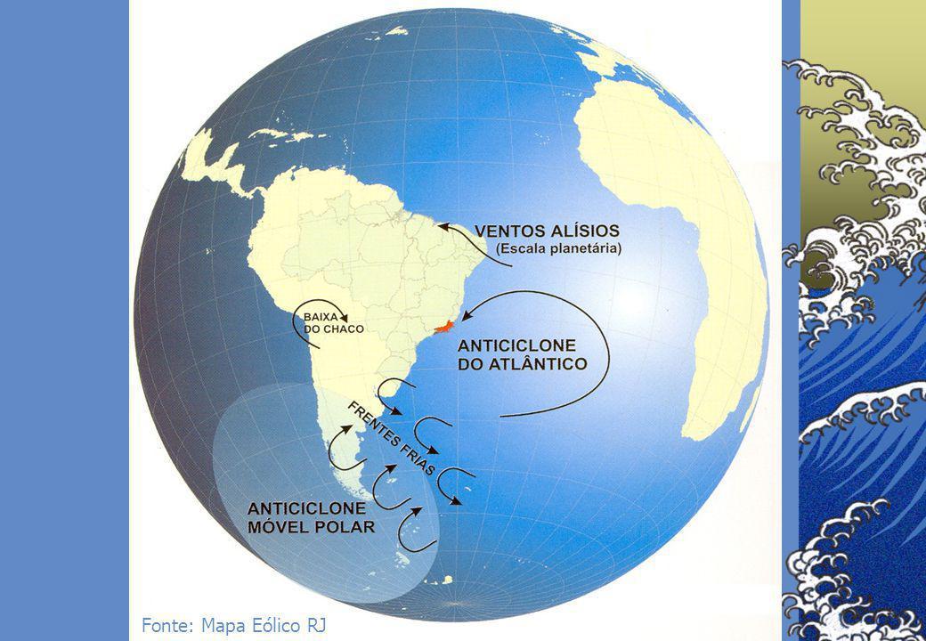 8 Fonte: Mapa Eólico RJ