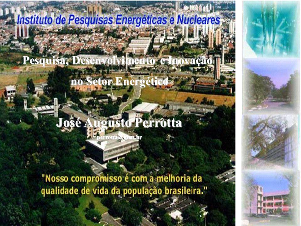 Pesquisa, Desenvolvimento e Inovação no Setor Energético José Augusto Perrotta perrotta@ipen.br
