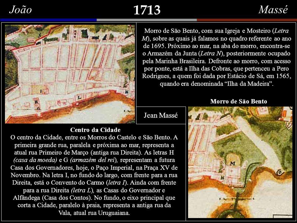 1695 St. Sebastian O título está em uma flâmula, no centro superior da gravura, e, logo abaixo, Ville Episcopale du Brésil. Não se conhece o nome do g