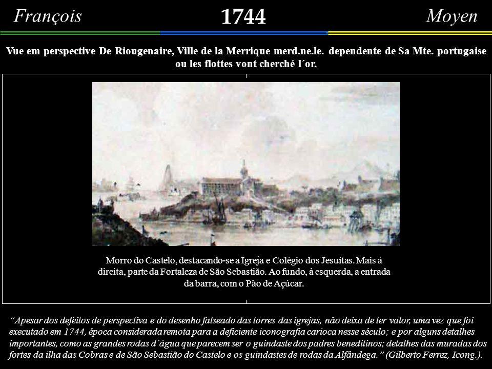 1731 Plan de Rio janairio – original manuscrito da Bibliothèque Nationale, Paris. Em 1731, esteve no Rio de Janeiro o navio francês La Sirenne. Pelo q
