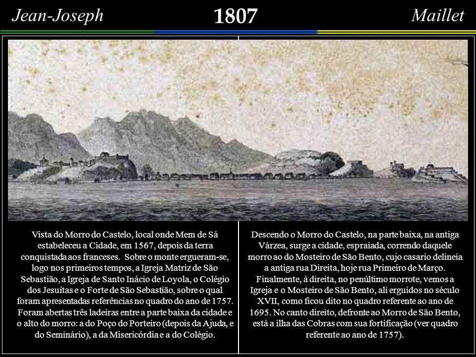 Conforme havia dito no princípio deste estudo, evitei incluir, entre os artistas franceses que olharam para o Rio de Janeiro, os cartógrafos; no entan