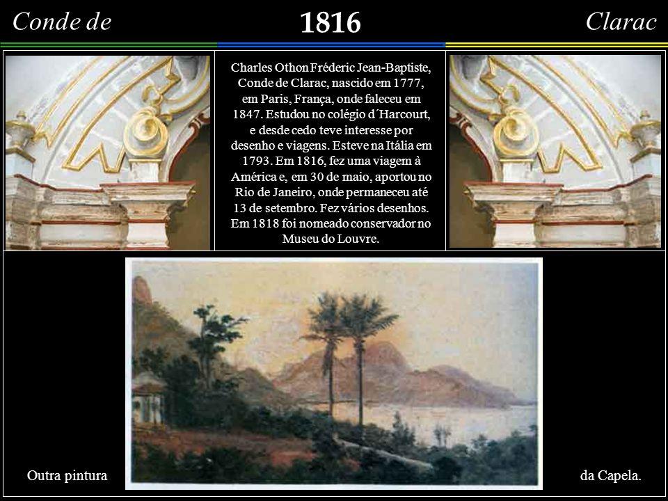 1816 Vue del´Entrée de la Rade de Rio-Janeiro, et du couvent de Gloria prise au dessus de celui de Santa Theresa. Importante litografia (18,5 x 34,9 c