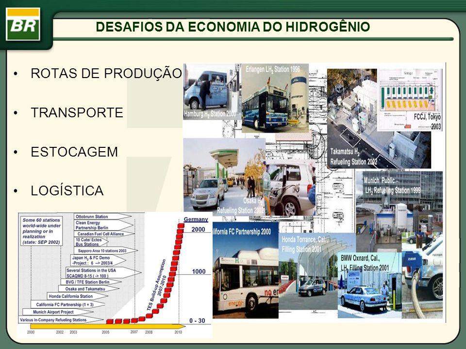DESAFIOS DA ECONOMIA DO HIDROGÊNIO ROTAS DE PRODUÇÃO TRANSPORTE ESTOCAGEM LOGÍSTICA