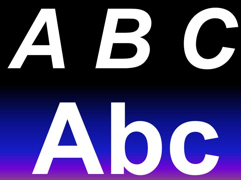 A primeira linha do alfabeto como se escreve. (da direita pra esquerda) J i hg f edcba Hejgdifcba