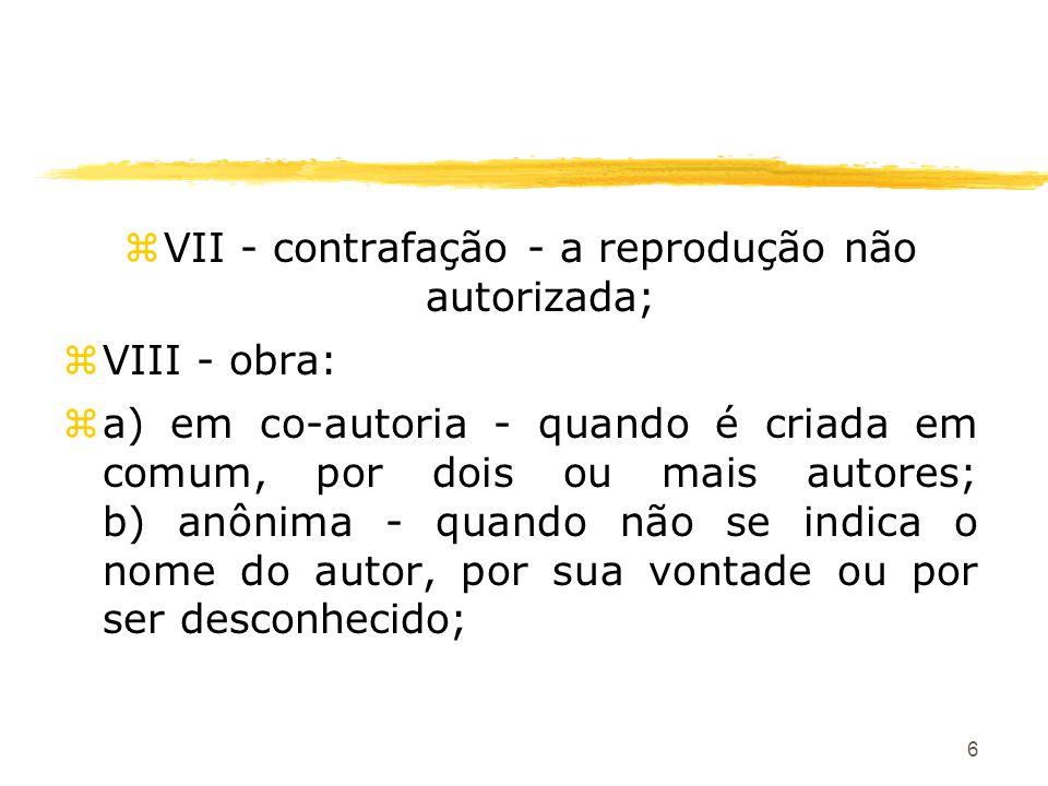 67 zTítulo V Dos Direitos Conexos zArt.89.