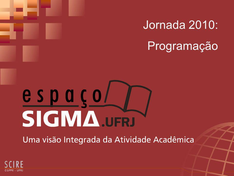 Jornada 2010: Programação