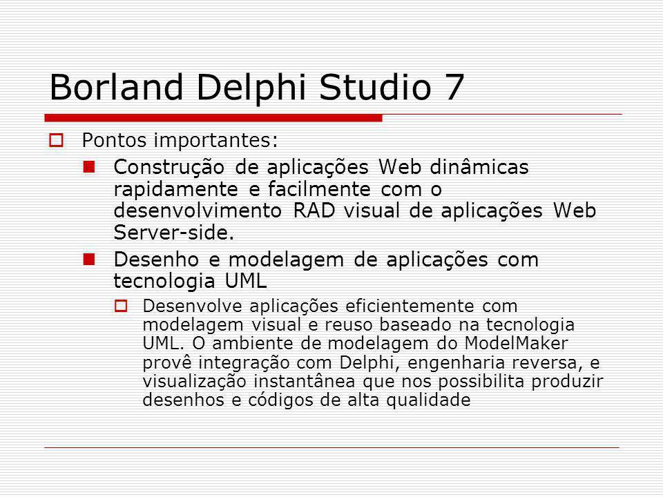 Borland Delphi Studio 7...