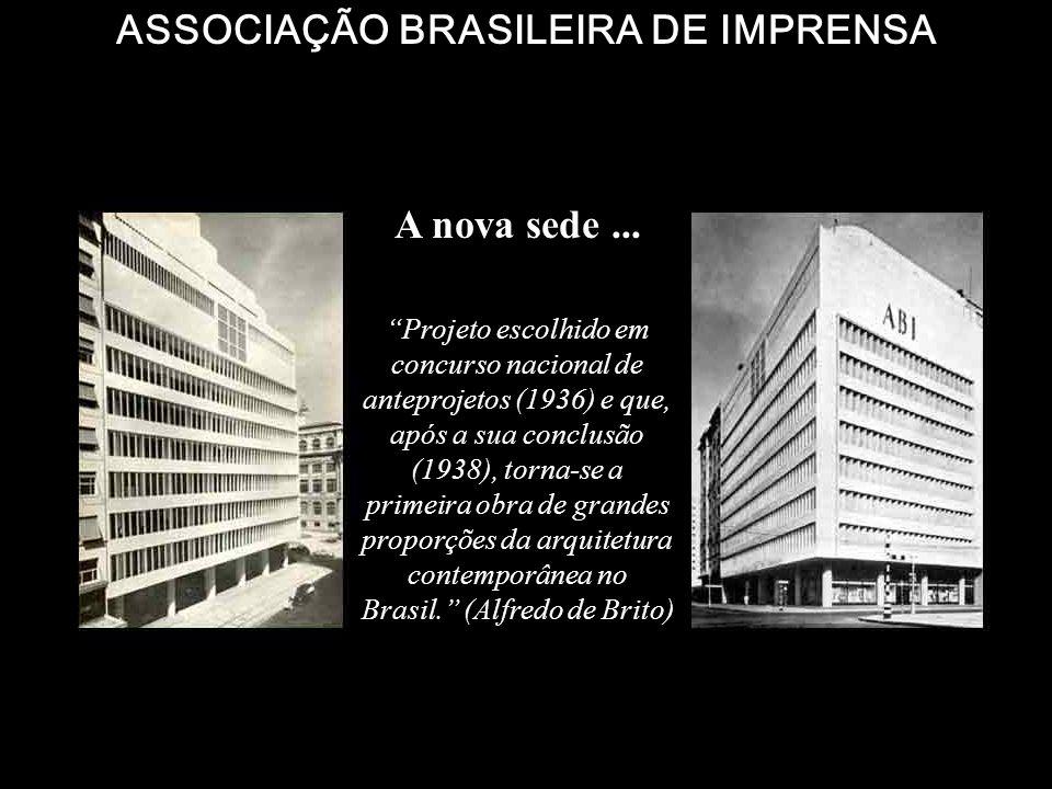 A nova Diretoria foi aclamada na mesma reunião, tendo comparecerido os fundadores: Belisário de Souza (O Pais); Amorim Júnior (O Pais) e Mário Galvão
