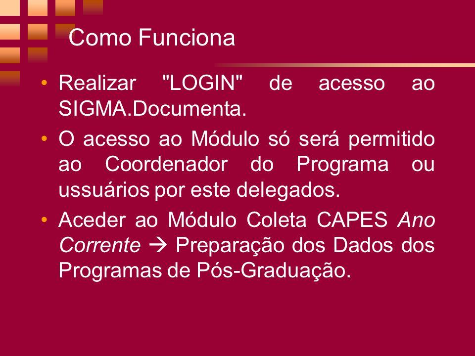 Como Funciona Realizar LOGIN de acesso ao SIGMA.Documenta.