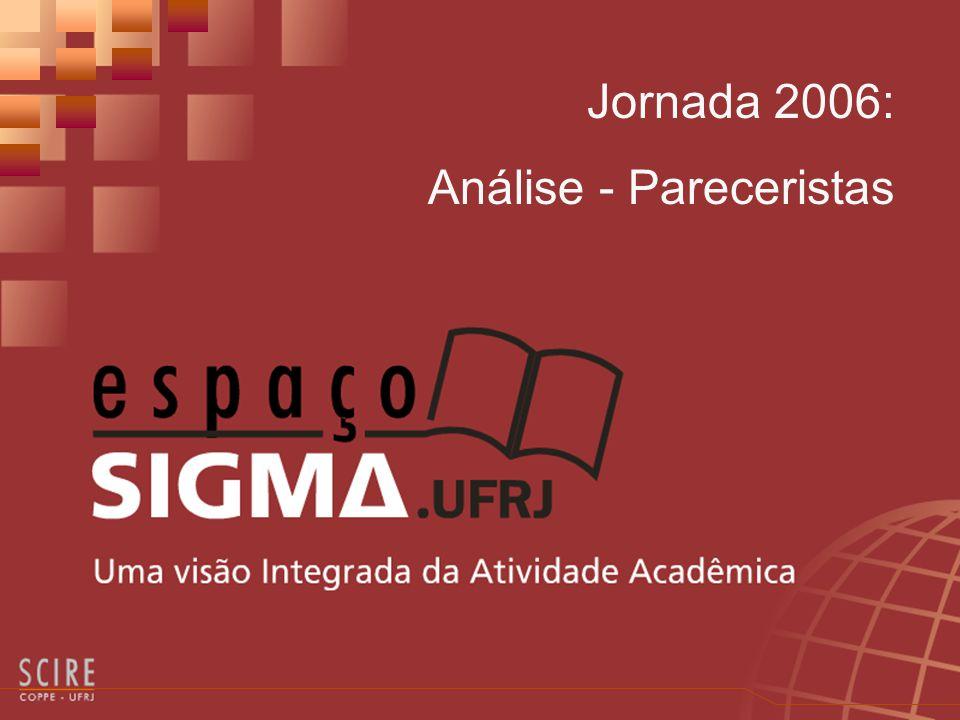 O que é O Módulo Jornada - Análise - Pareceristas permite aos usuários SIGMA, designados pareceristas de trabalhos inscritos na Jornada, registrar seus pareceres diretamente no SIGMA.Documenta.